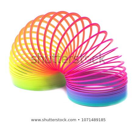 colorful rainbow spiral stock photo © oblachko