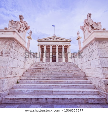 iônico · colunas · branco · mármore · clássico · ordem - foto stock © andreykr