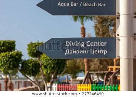 ビーチ · 高級 · ホテル · エジプト · 空 · 水 - ストックフォト © master1305