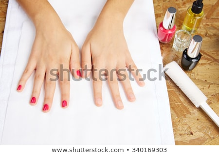 Womans hands after a manicure and polish Stock photo © wavebreak_media