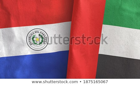 United Arab Emirates and Paraguay Flags Stock photo © Istanbul2009