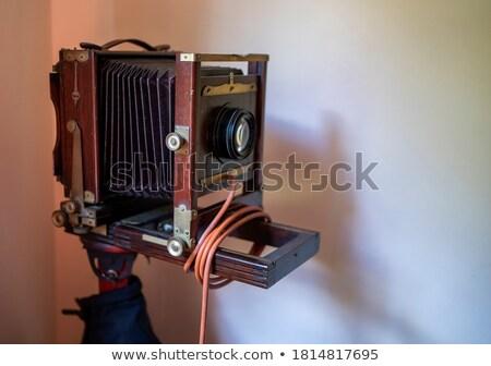 przestarzały · kamery · starych · duży · narzędzia · zawodowych - zdjęcia stock © Paha_L