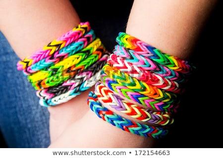Different Colorful Bracelets Stock photo © Kayco