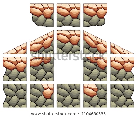 2D Tileset Platform Game    Stock photo © papaeiwi