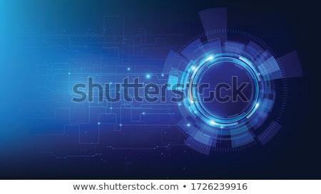 темно интерфейс Стрелки вектора графического дизайна свет Сток-фото © saicle