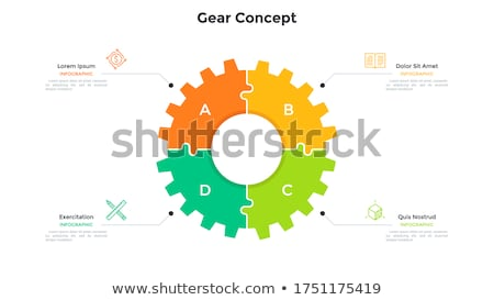 Gear And Divider Stock photo © cosma