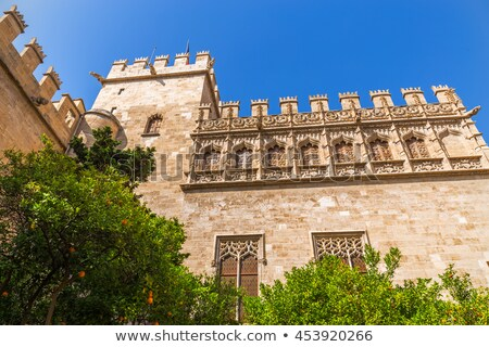 Valencia La Lonja de Seda historic building Stock photo © lunamarina