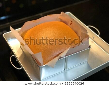 Cheese and chocolate sponge cake Stock photo © Digifoodstock