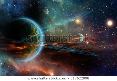 Planets in the outerspace Stock photo © bluering