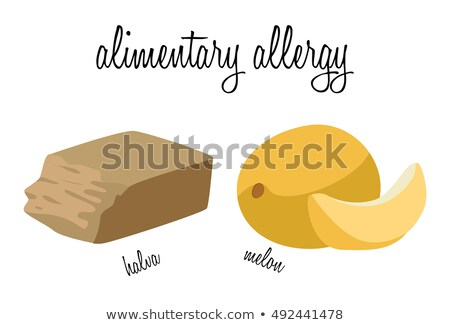 Halva and melon - foods that cause food allergies Stock photo © tatiana3337