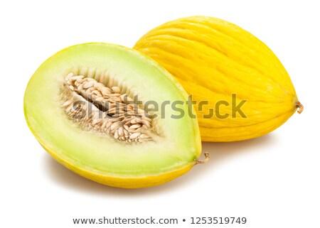Giallo melone metà bianco Foto d'archivio © Digifoodstock