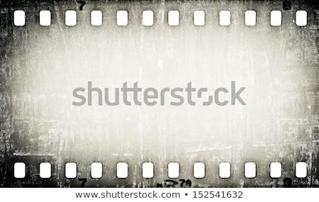 Grijs filmstrip ontwerp film zwarte digitale Stockfoto © SArts