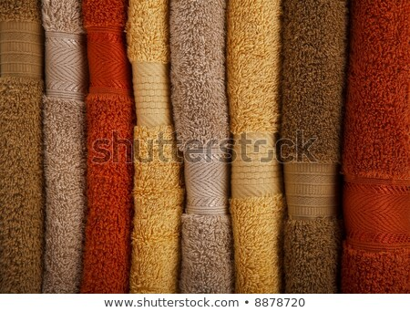 Detail of a Pile of towels in vertical format  Stock photo © Joseph