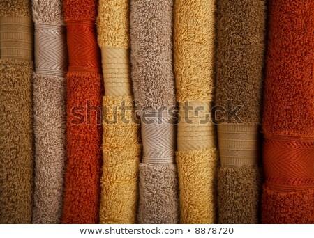 détail · serviettes · vertical · format · chaud - photo stock © Joseph