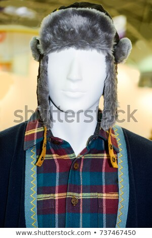 Outlet store boutique mannequin, male figure portrait Stock photo © stevanovicigor
