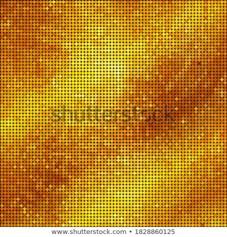 Giallo arancione pop art mezzitoni effetto Foto d'archivio © studiostoks