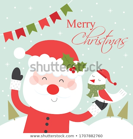 Christmas Greetings from Santa Stock photo © romvo