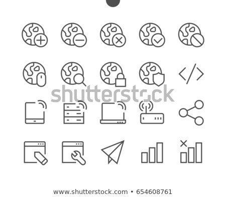 Wi-Fi Source Icon with Set Stock photo © ahasoft