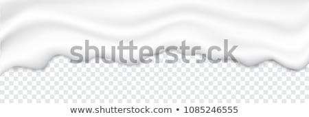 вектора Swirl кремом текстуры фоны изолированный Сток-фото © pikepicture