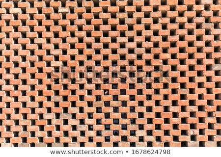 Weather worn brick wall Stock photo © stevanovicigor