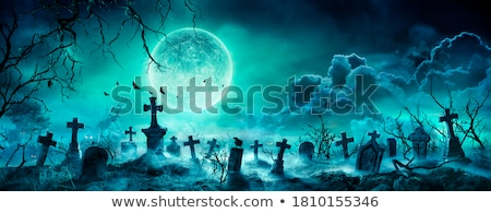 Spooky Cemetery Stock photo © Lightsource