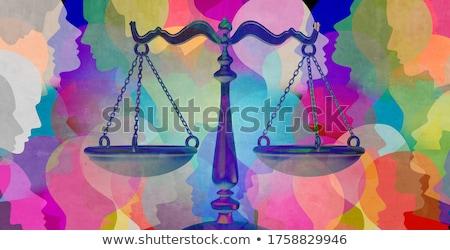 juiz · martelo · ícone · cinza · sucesso · advogado - foto stock © olena