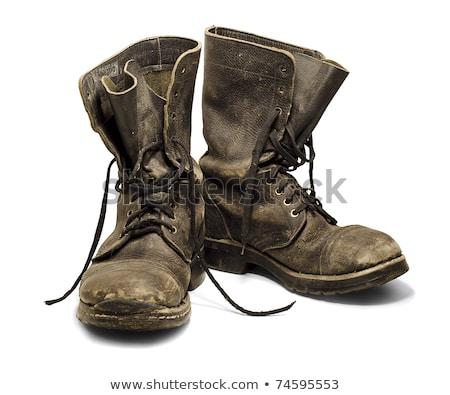 militar · equipamento · velho · luz - foto stock © grafvision