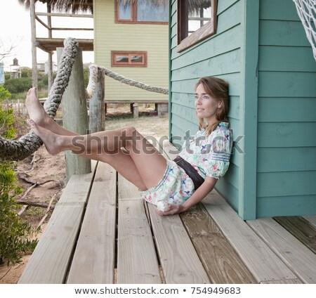 フィート · 女性 · 脚 · ビーチ · 休暇 · 女性 - ストックフォト © is2