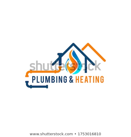 plumbing service logo stock photo © meisuseno