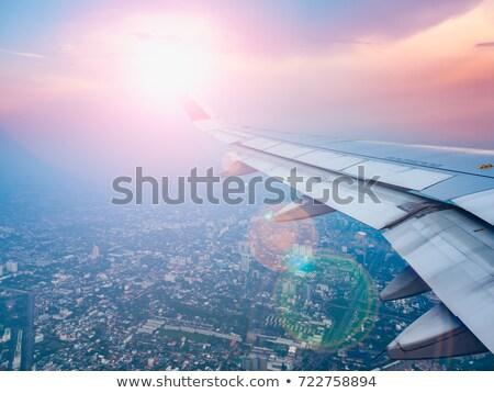 Aeropuerto vista sol día bali isla Foto stock © joyr