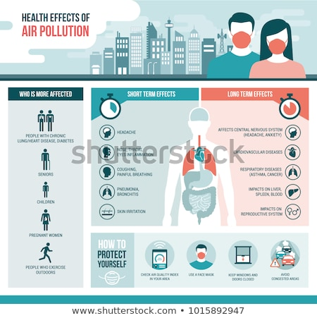 Human Pollution Health Risk Stock photo © Lightsource