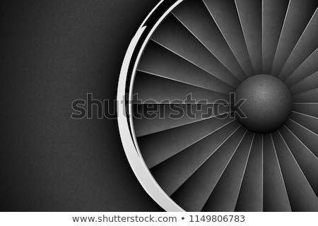 elöl · kilátás · repülőgép · illusztráció · fehér · üzlet - stock fotó © iaroslava
