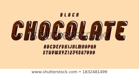 hot · mleka · czekolady - zdjęcia stock © fisher