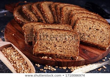 loafs of wheat bread stock photo © dash