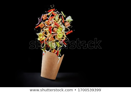 ingredient for chinese salad Stock photo © cynoclub