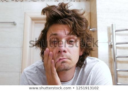 Kócos mellkas személy közelkép testmozgás bőr Stock fotó © vladacanon