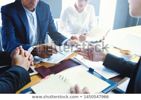 Negocios negociación dos femenino propietarios Foto stock © pressmaster