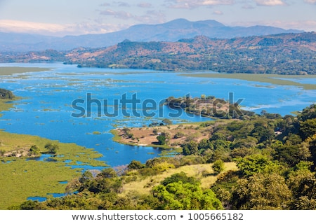 Lake Suchitlan seen from Suchitoto Stock photo © benkrut