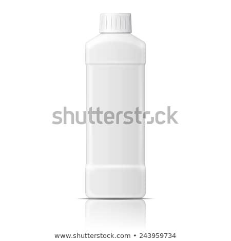 Mosogatás fehérítő műanyag üveg vektor zárva Stock fotó © pikepicture