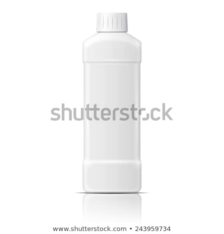 Blank Dishwashing Bleach Plastic Bottle Vector Stock photo © pikepicture