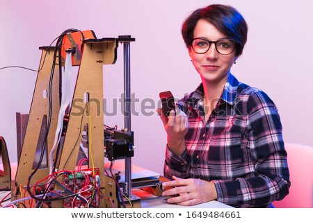 Young engineer working stock photo © nyul