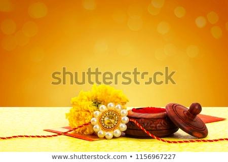 hindu festival of raksha bandhan greeting Stock photo © SArts