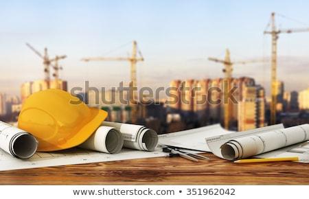 comprimido · ferramentas · diagrama · construção · chave · tela - foto stock © ra2studio