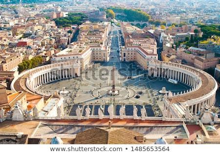 Oude vaticaan vierkante stad kerk Europa Stockfoto © Alex9500