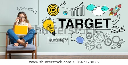 Different Targets on the Wall in the Room Stock photo © make