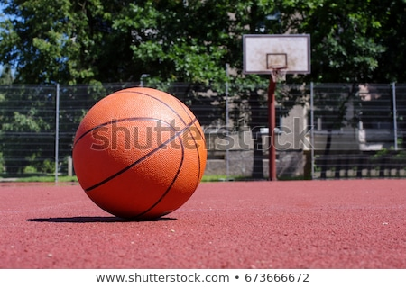 Basketball ground in a public park Stock photo © ElenaBatkova