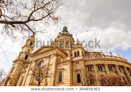 Basilica romana cattolico cattedrale Budapest Ungheria Foto d'archivio © artjazz