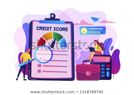 Crédito vector metáfora capacidad acreedor Foto stock © RAStudio