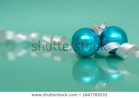 2 クリスマス 緑 スペース ボール ストックフォト © Alkestida
