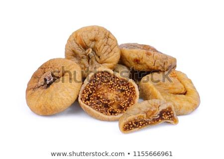 Essiccati tre alimentare frutti bianco Foto d'archivio © ruigsantos